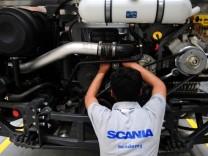 Scania facility in Bangalore