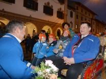 Willkommensfeier für Biathletin Laura Dahlmeier
