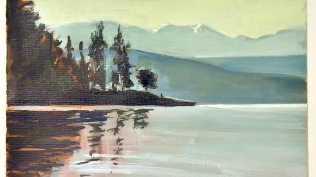 Dießen Pavillion am See, Ausstellung