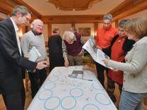 Eching,  Workshop Gestaltung der Freizeiräume der Region