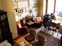 Frühstück in der Maxvorstadt: Frühstücken im Holzkranich, Café und Bar in einem.