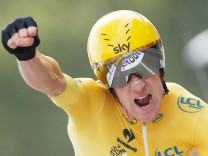 Bradley Wiggins  bei der Tour de France 2012