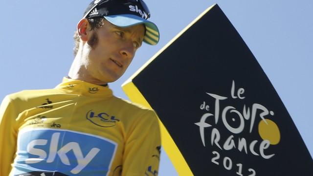 Radsport Rad-Profi Bradley Wiggins