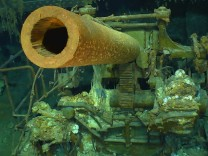 Wreckage found of WWII aircraft carrier USS Lexington