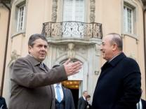 Türkischer Außenminister Cavusoglu in Deutschland