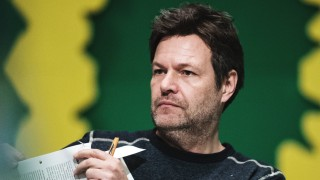 Robert Habeck auf der Bundesdelegiertenkonferenz von Bündnis 90/Die Grünen