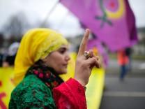 Kundgebung zum kurdischen Newroz-Fest