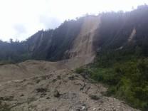 Nach Erdbeben in Papua-Neuguinea