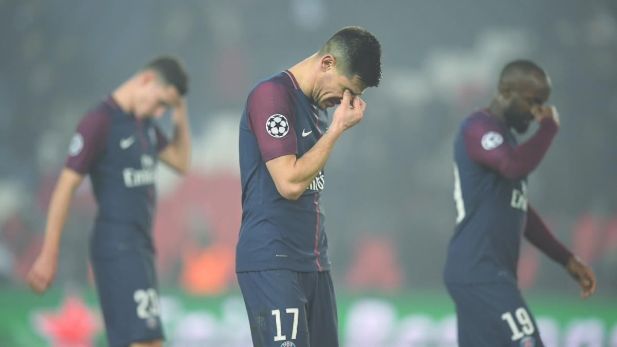 Psg Paris Scheitert Krachend In Der Champions League Sport