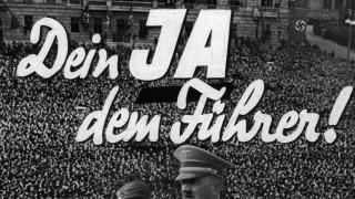Propagandafoto für Volksabstimmung zum Anschluss Österreichs, 1938