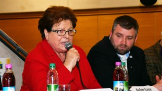 Aufkirchen Barbara Stamm zur Flüchtlingspolitik