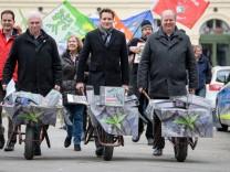 Volksbegehren gegen Flächenfraß in Bayern