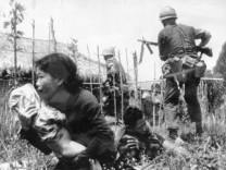 Amerikanische Soldaten bei Gefechten in Südvietnam, 1967