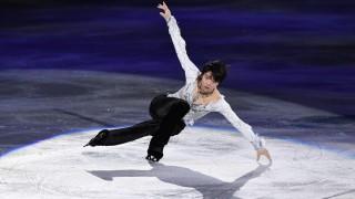 Eiskunstlauf-WM Yuzuru Hanyu