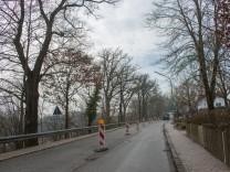 Staatsstraße 2045 in Volkmannsdorf, Gemeinde Wang