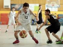 München: Bayerische Meisterschaften BASKETBALL U14 //  TSV München OST v DJK Neustadt/ Waldnaab