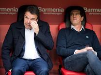 HSV-Vorstandschef Heribert Bruchhagen und Sportchef Jens Todt wurden im März 2018 entlassen.