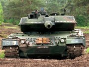 Leopard Panzer, dpa