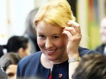 Neuköllns  Bezirksbürgermeisterin  Franziska Giffey
