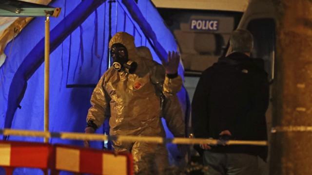 Politik Großbritannien Mordanschlag auf Ex-Spion in Großbritannien