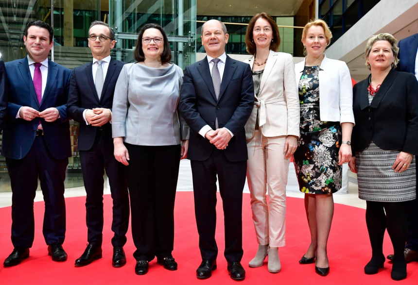 groe koalition das sind die spd minister im kabinett - Was Ist Ein Kabinett