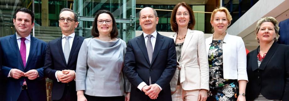 Politik SPD Große Koalition