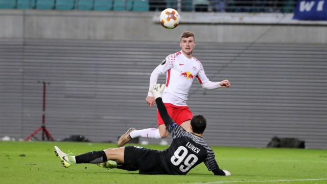 RB Leipzig St Petersburg Fussball Euro League Leipzig 08 03 2018 Red Bull Arena Fussball UEF