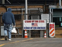 Trump's Announcement On New Steel And Aluminum Tariffs Rattles Markets Amid Trade War Rhetoric