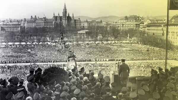 """Politik Österreich 80 Jahre """"Anschluss"""" Österreichs"""