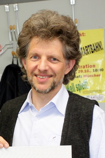 """Andreas Horn ist Vorsitzender von """"Sonnenkraft"""". (Foto: Marco Einfeldt)"""