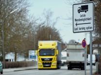 LKW-Verkehr Maisach