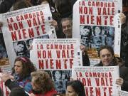 Protest in Neapel, Zehntausende demonstrieren gegen die Mafia, Reuters