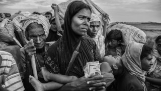 Rohingya Refugees Flee Into Bangladesh to Escape Ethnic Cleansing