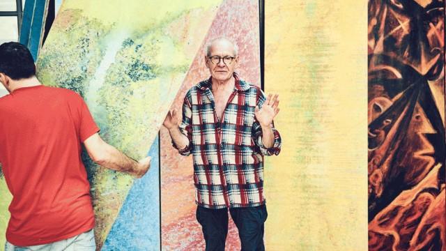 Kunst Der Maler Jürgen Draeger im Porträt
