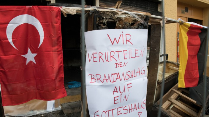 Weitere Entwicklung nach dem Brandanschlag auf Berliner Moschee