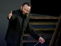 """Premiere der Oper """"Il trittico"""" in München, 2017"""