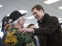 USA: Der Demokrat Conor Lamb auf Wahlkampftour in Pennsylvania.