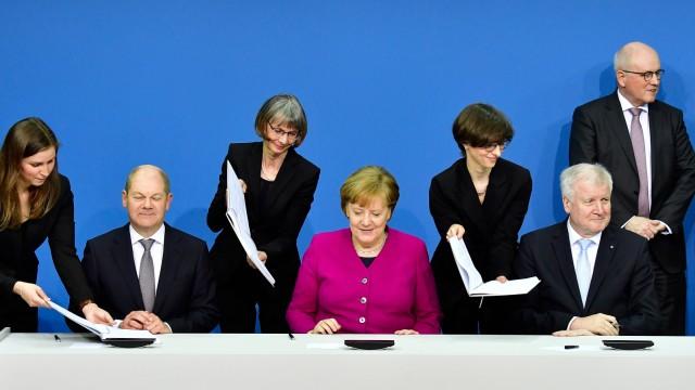 Süddeutsche Zeitung Politik Union und SPD