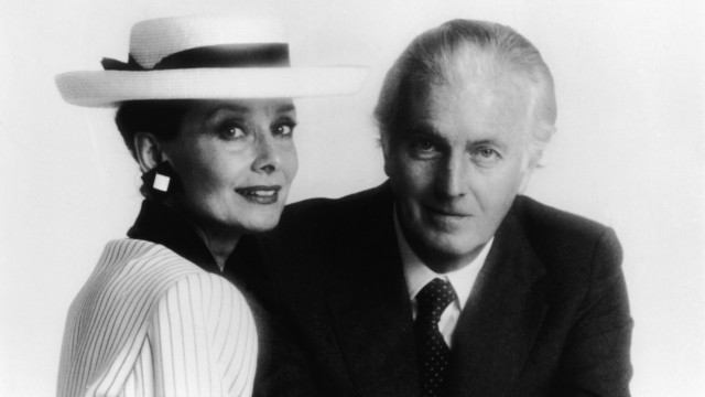(FILE) French Fashion Designer Hubert de Givenchy Dies At 91 Portrait Of Audrey Hepburn & Hubert De Givenchy