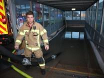 Wasserschaden am Bahnhof