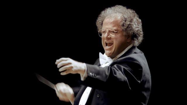 Handout photo of MET musical director James Levine in Japan
