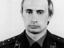 Before rising to power as one of the most infamous leaders in the world Putin was a playful hipste