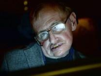 Stephen Hawking 2014 in London. Der Astrophysiker starb 2018 im Alter von 76 Jahren.