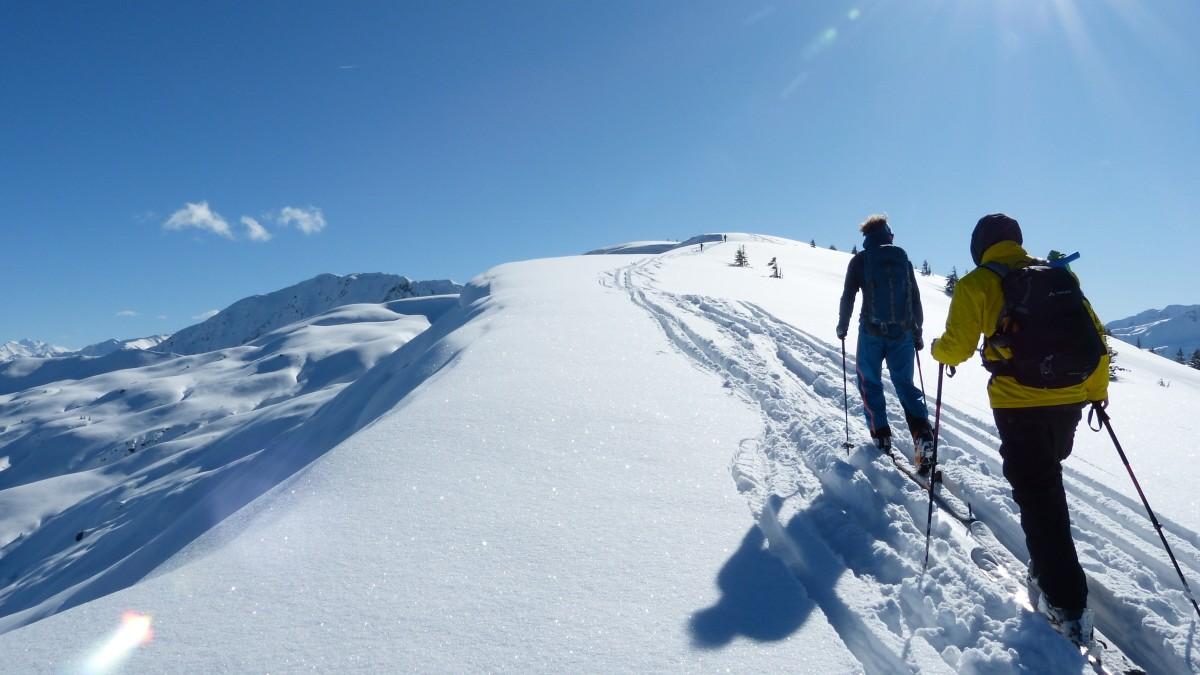 Ein Skitouren-Traum auch für Anfänger