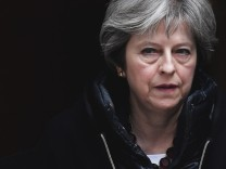 Britain's Prime Minister Theresa May, leaves 10 Downing Street in London