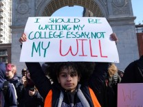 Mass rally by US students to demand Congress comes up with effective legislation to address epidemic of gun violence