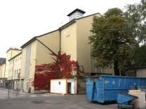 Früheres Heizwerk der SWM in der Katherina-von Bora-Strasse in München, 2013