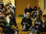 Hochschulpakt Studenten Hörsaal, ddp