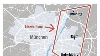 München Aus der Vogelperspektive