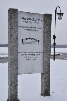 Stehle zu Ehren von Orlando di Lasso in Putzbrunn